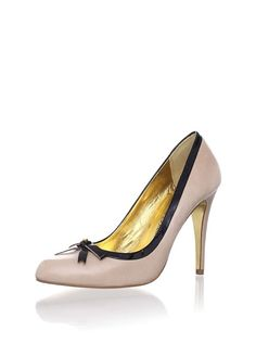 Ted Baker Nude/Patent Pumps...these are all that AND a bag of chips!