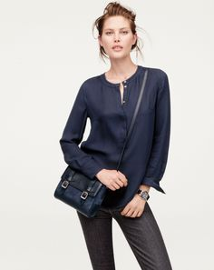 J.Crew Marlie purse in suede. - fall 2013