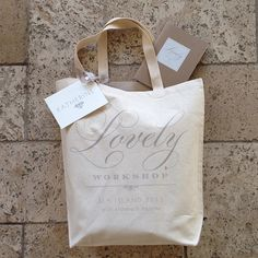 custom bags for the A Lovely Workshop Custom Wedding Favours a048050ea756