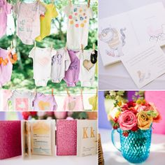 A Classic Storybook Shower With Modern Details - LOVE all of this! Books are so incredibly important! I really love the idea of a table setting for the shower - reminds me of a tea party.