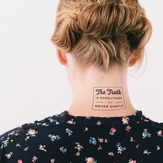 The Importance of Being Earnest | Book Tattoo | Litographs