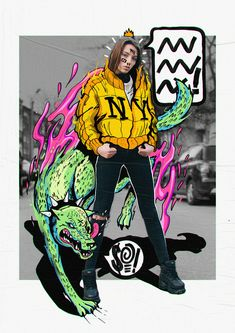 Adobe Live 2018 on Behance Photography Illustration, Photo Illustration, Graphic Design Illustration, Digital Illustration, Art Photography, Foto Doodle, Doodle On Photo, Graphic Design Posters, Graphic Design Inspiration
