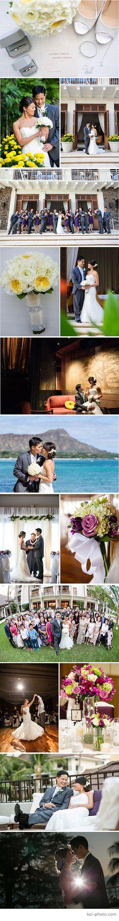 A Halekulani Wedding Photographed by KAI-PHOTO HAWAII   L+A @ Halekulani