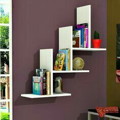 5 Unbelievable Tips and Tricks: Ikea Floating Shelves Closet floating shelves over tv layout.How To Make Floating Shelves Kitchens ikea floating shelves closet. Floating Shelves Bathroom, Rustic Floating Shelves, Regal Design, Wall Shelves Design, Shelf Wall, Tv Shelf, Long Shelf, Corner Wall, Corner Plant