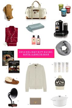 2014 Holiday Gift Guide: Gifts I Love to Give | Sequins & Stripes #giftguide #holidayseason #giftgiving