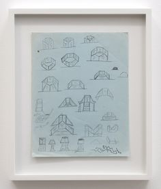 Untitled (parquet shapes)   Christina Ramberg, Untitled (parquet shapes)