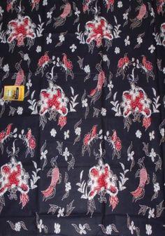 Kain Batik Cibulan 805-Hitam