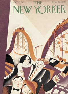 The New Yorker - Saturday, July 2, 1927 - Issue # 124 - Vol. 3 - N° 20 - Cover by : Victor Bobritsky