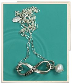 love you infinity, I saw this and immediate KNEW it was meant for me!!! So beautiful! Love this infinity symbol, it speaks to just how I love and how deeply I hold my loved one dear to my heart! #vintagepearl