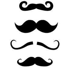 The Free SVG Blog: Mustache Free SVG