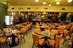 Lucerna cafe #prague #cafe #coffee Prague, Cosy, Coffee Shop, Brunch, Drinks, Home Decor, Coffee Shops, Drinking, Coffeehouse