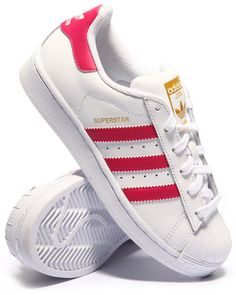 Adidas Girls Pink Superstar Originals