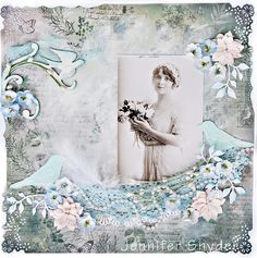 Miss Sari Petrass - The Lady with Two Endings - Scraps Of Elegance - Scrapbook.com