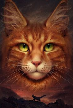 super ideas for cats fat art warrior Warrior Cats Series, Warrior Cats Fan Art, Warrior Cats Books, Warrior Cat Drawings, Warrior Cats Clans, Love Warriors, F2 Savannah Cat, Beautiful Cats, Cool Cats