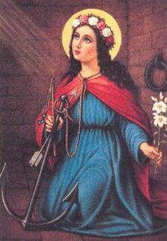 Saint Philomena pray for us and infants, babies, children, forgotten causes and test takers.  Feast day August 11.