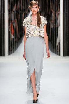 Jenny Packham Spring 2013 Ready-to-Wear Fashion Show
