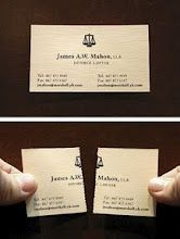Funny Business Card For A Divorce Lawyer