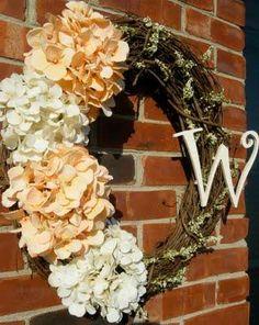 DIY Halloween : DIY Hydrangea Wreath