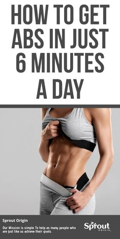 Are you struggling to lose weight and get a six pack? Here's how to get abs In Just 6 Minutes a day with these simple ab workouts. Loosing Belly Fat Fast, Lose Thigh Fat Fast, Loose Belly Fat, Flat Belly, Lose Belly, Fast Weight Loss Tips, How To Lose Weight Fast, Losing Weight, Easy Ab Workout