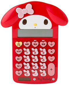 My Melody Calculator Red Face Sanrio from Japan Free Shipping new #Sanrio