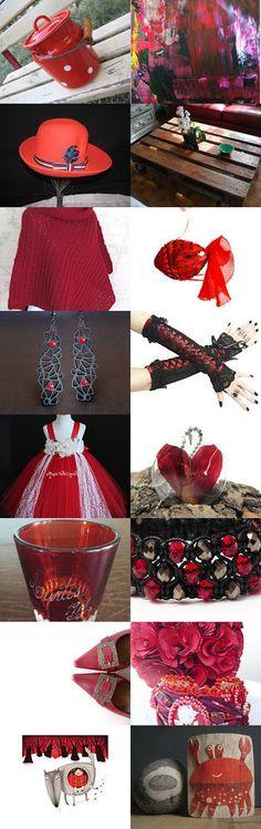 Profondo Rosso by Laura P. on Etsy--Pinned with TreasuryPin.com