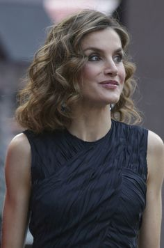 """Queen Letizia of Spain attended the final contest of scientific monologues """"FameLab Spain 2016"""" in Madrid"""