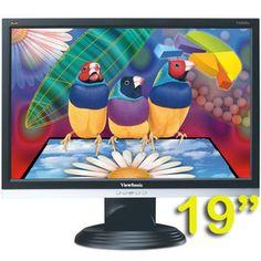 """√ Monitor PC LCD 19"""" ViewSonic VA1926w 1440 x 900 Wide - Costa poco"""