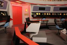Bridge Faragut Films Starship Sets Studio
