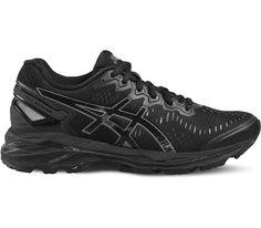 ASICS - Gel-Kayano 23 chaussures de running pour femmes (noir gris) 4b5ea158ae