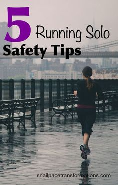 If you like running solo, here are 5 tips that can increase your safety.