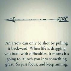 Just focus and keep aiming