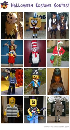 Homemade Costumes for Boys - Halloween costume contest