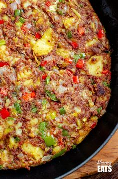 Low Syn Corned Beef Hash - an easy family friendly recipe perfect for breakfast, lunch or dinner. Gluten Free, Dairy Free, Slimming World and Weight Watchers friendly