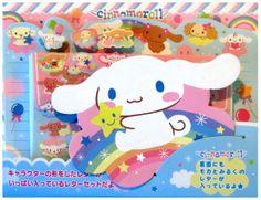 Sanrio Cinnamoroll Rainbow letter set