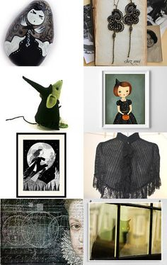 So happy to be a witch! by Gioconda Pieracci on Etsy--Pinned with TreasuryPin.com