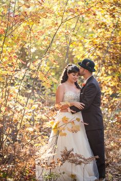 {Fall Wedding Inspiration} Fall in the Midwest|Photographer:  Wren Photography