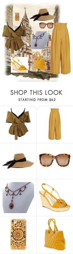 """""""Let's Explore Venice"""" by rivendellrockjewelry ❤ liked on Polyvore featuring Acler, Sonia Rykiel, Eugenia Kim, Linda Farrow, Anne Klein and Felony Case"""