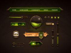 Ui-kit by Creative Mints, on dribbble