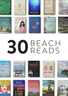 30 Beach Reads via @purewow  http://www.purewow.com/30_days/30-Beach-Reads?utm_medium=email&utm_source=national&utm_campaign=New_Wave_2015_07_06&utm_content=Arts_and_Culture_editorial