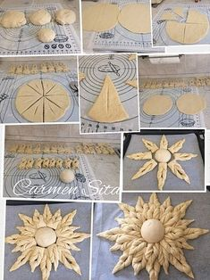 Bread Decorating - The Best Must Try Foods in Macedonia Decoration Patisserie, Dessert Decoration, Table Decorations, Donut Recipes, Bread Recipes, Pie Crust Designs, Macedonian Food, Bread Shaping, Bread Art