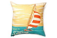 Rather Be 20x20 Outdoor Pillow, Multi on OneKingsLane.com