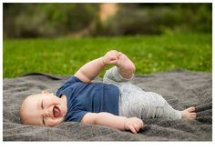 6 month old baby boy playing with his toes, Redlands family photographer, Southern California family photographer, photo of 6 month old baby