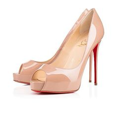 cddd9817711a Christian Louboutin United Kingdom Official Online Boutique - NEW VERY PRIVE  PATENT 120 Nude Patent Calfskin available online. Discover more Women Shoes  by ...