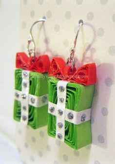 Christmas Quilled Pretties - Quilled Creations Quilling Gallery
