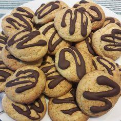 Διατροφή και νέα ζωή ( Δίαιτα των 3 φάσεων ): ΜΠΙΣΚΟΤΑ ΜΕ ΙΝΕΣ ΜΠΑΜΠΟΥ Sugar Free, Keto, Cookies, Healthy, Sweet, Desserts, Recipes, Food, Kitchens