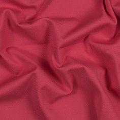 Hot Coral Stretch Cotton Crepe-320105-11