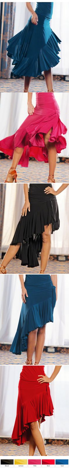 Dance America S313 - Volant Wrap Latin Skirt-Salsa Thursdays here I come!