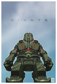 Giant - Jaeger Cherno Alpha by ~DanielMead