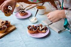 Apple Bettelman (Alsatian bread pudding) ... from The Kitchn