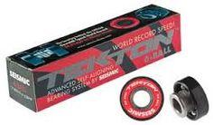 Seismic Tekton 6-Ball Steel Longboard Skateboard #Bearings